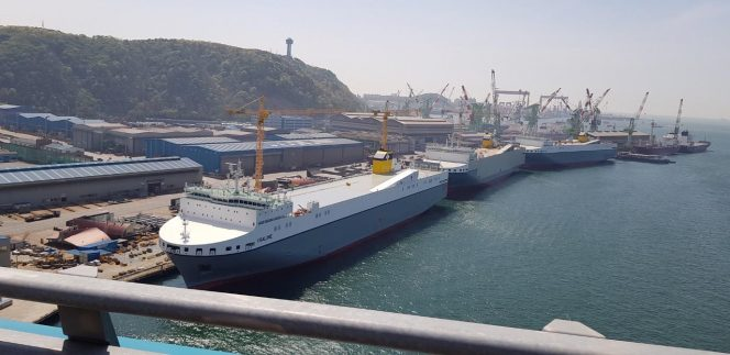 CLdN Ro-Ro receives LNG-ready vessel, orders LNG-fueled pair