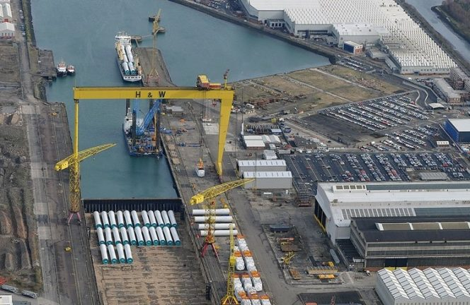 InfraStrata buys Harland and Wolff, eyes FSRU project costs cut