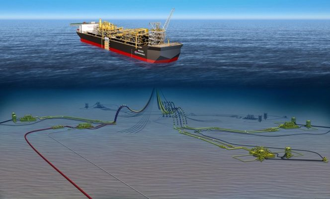 Rendering of the Barossa FPSO