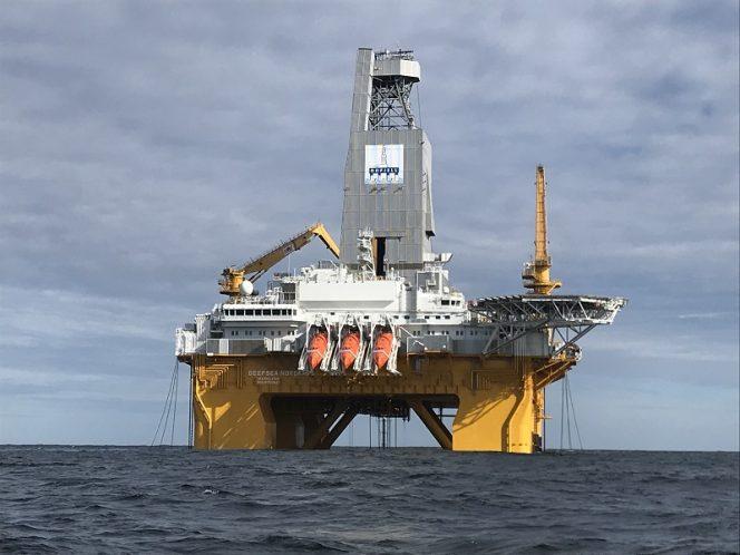 Deepsea Nordkapp rig