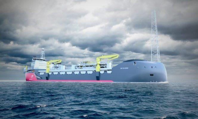 The Bay du Nord FPSO illustration