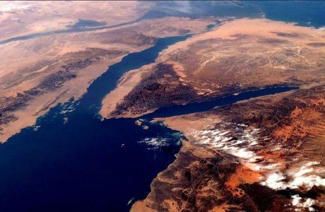 Gulf of Suez / Image by Nasa