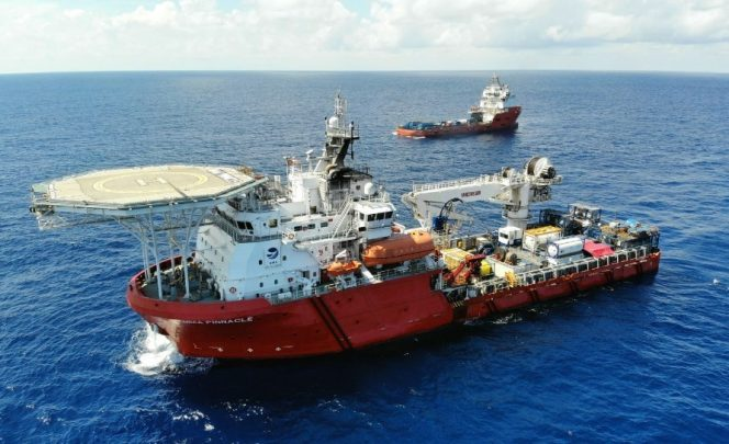 An MMA Offshore vessel / Image source: MMA Offshore