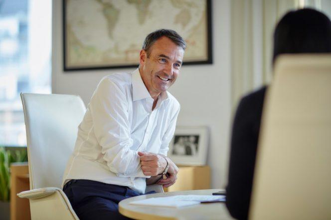 New CEO Bernard Looney / Image by BP