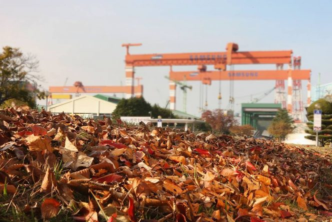 Samsung Heavy lays keel for Celsius Tankers' third LNG newbuild