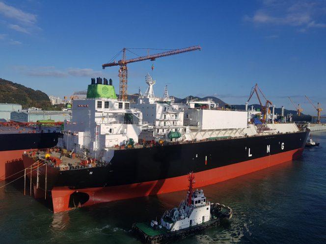 Flex charters LNG newbuild to Gunvor