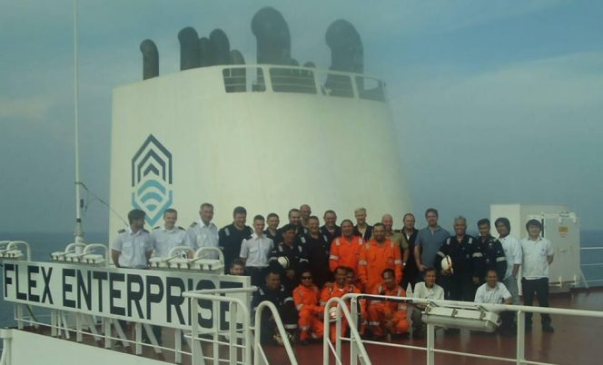 Flex LNG transfers first vessel to in-house management company