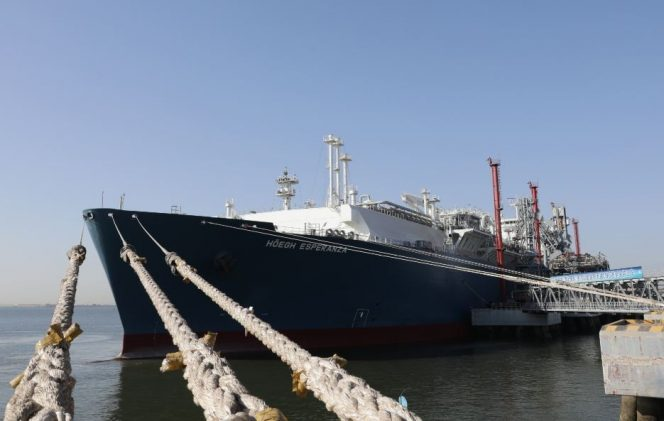 FSRU Höegh Esperanza returns to Tianjin LNG terminal