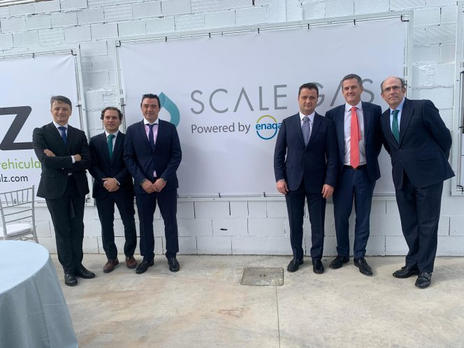 Enagás inaugurates new LNG fueling station in Valencia