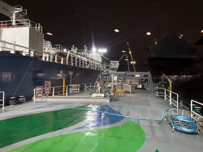 Titan LNG wraps up first STS LNG bunkering in port of Ghent
