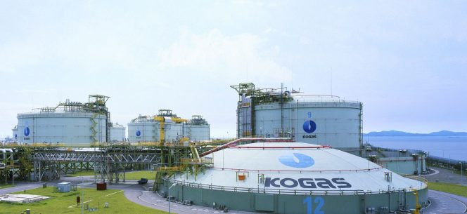 Kogas posts LNG sales drop in October