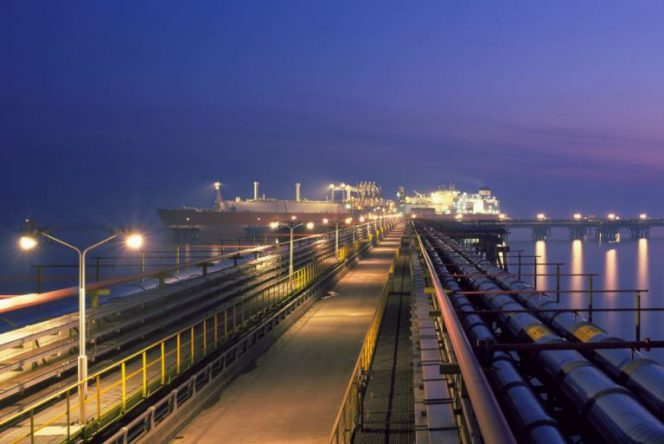 South Korean LNG imports slip in October