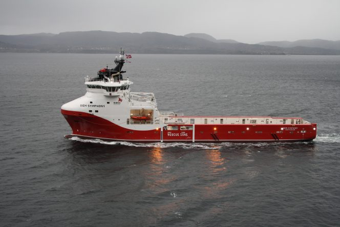 Siem Offshore nets deal for LNG-fueled Siem Symphony
