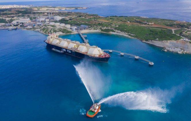 Electrogas Malta prepares FSU Armada LNG Mediterrana for adverse weather