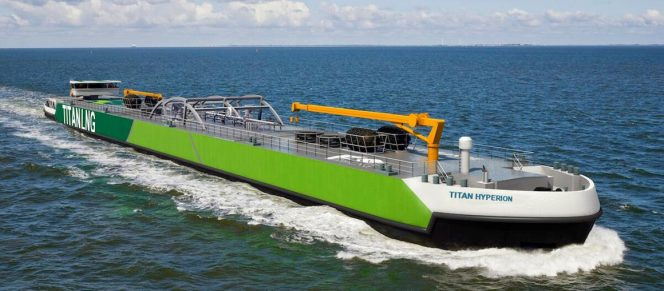Titan LNG sets sights on third LNG bunker barge