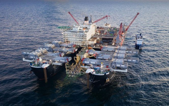 Pioneering Spirit vessel; Source: Nord Stream 2 AG