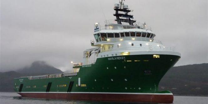 Platform supply vessel Havila Herøy