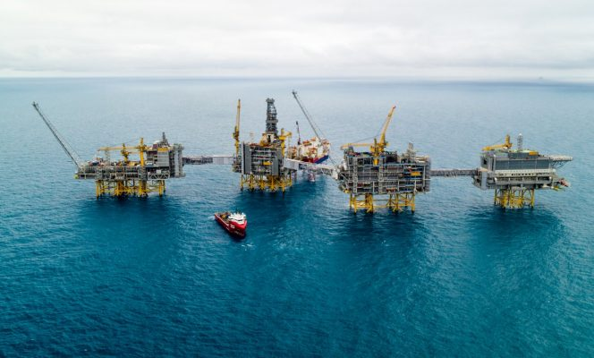 The Johan Sverdrup field in the North Sea.