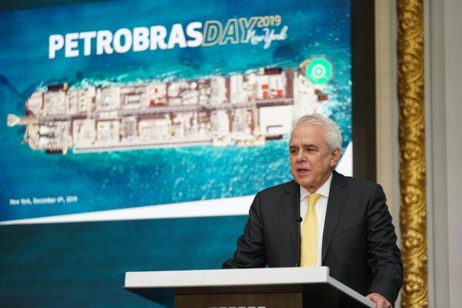 Petrobras CEO Roberto da Cunha Castello Branco presented the company's plan in New York this week