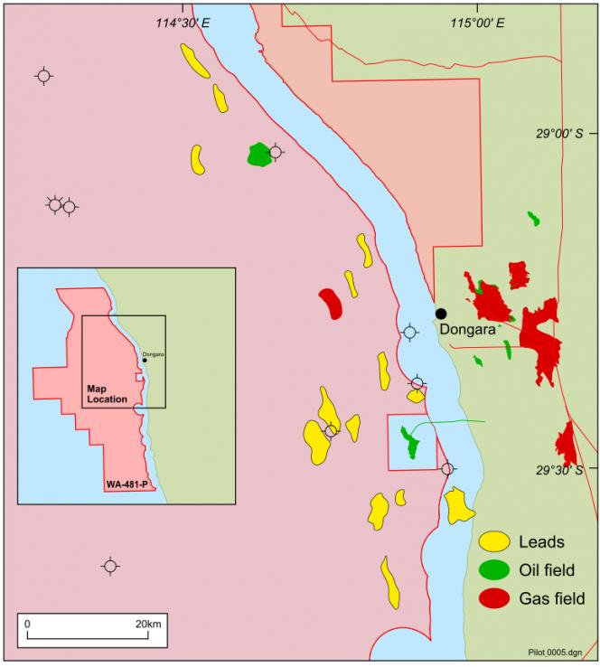 Map source: Pilot Energy