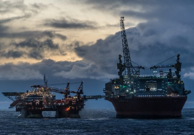 Eni's Goliat FPSO in the Barents Sea off Norway