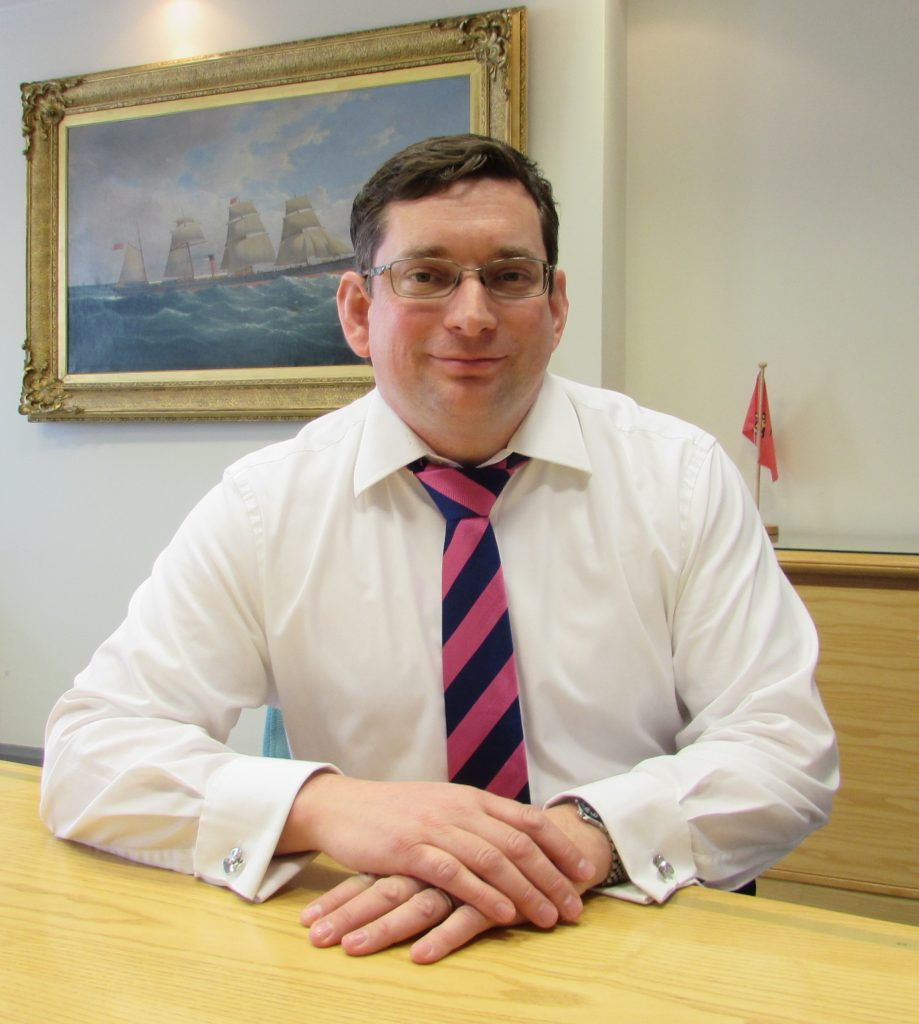 Stephen Bolton Managing Director Bibby Marine Services