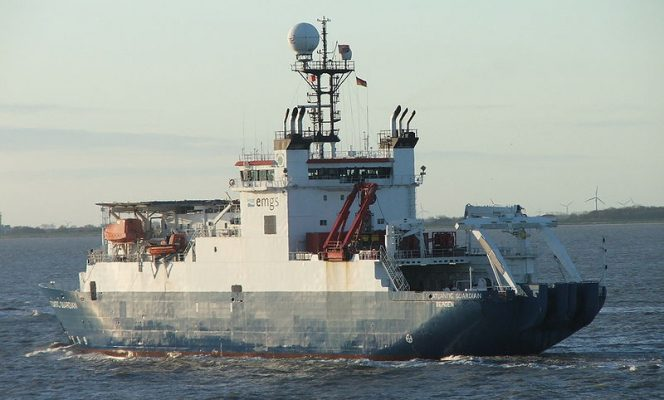 Atlantic Guardian; Image by SteKrueBe, shared from Wikimedia under CC BY-SA 3.0 license