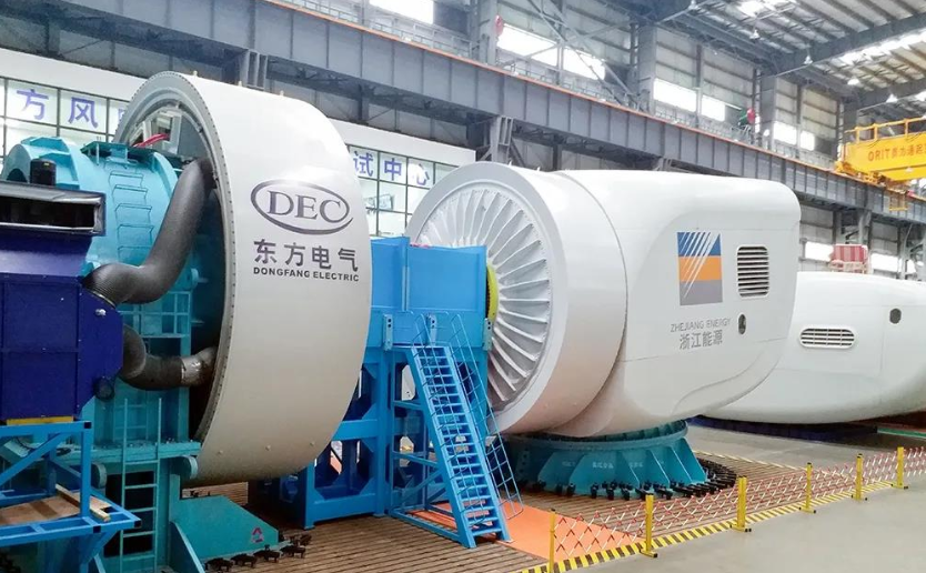 Dongfang Electric piecing together first 7 MW typhoon-resistant offshore wind turbine