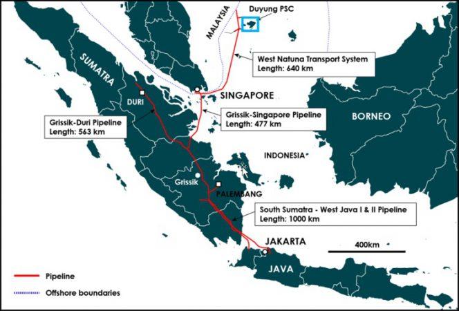 Duyung PSC location; Source: Conrad