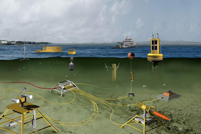 subsea observatory in Galway Bay