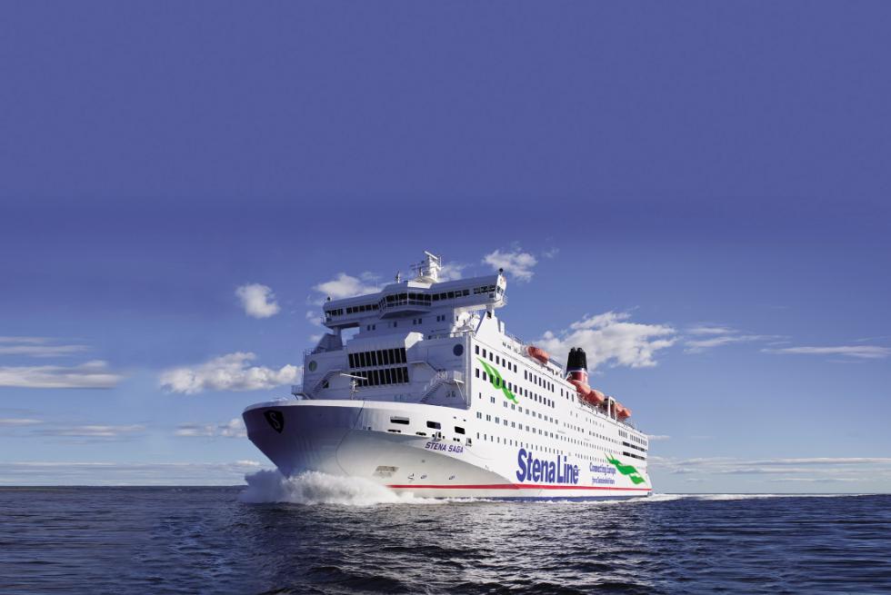 Stena Saga RORO vessel