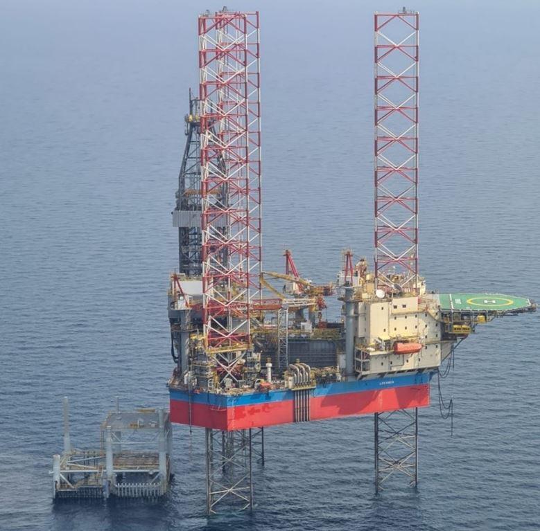 Qatar Petroleum rig