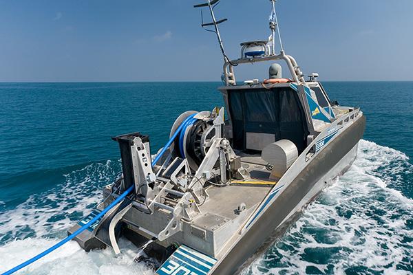 Seagul USV with TRAPS