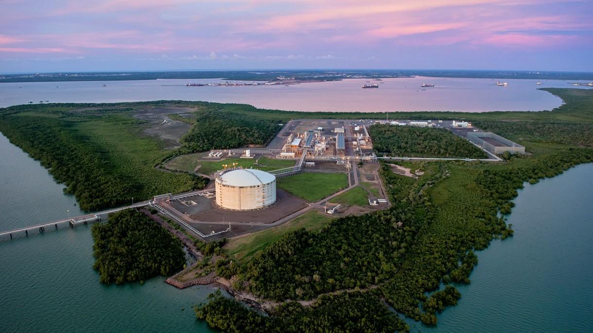 Darwin LNG export terminal