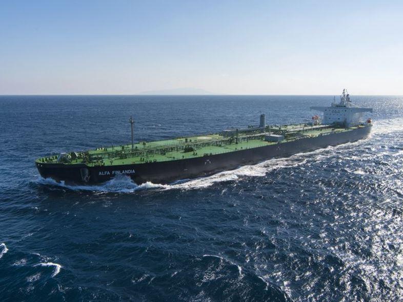 Alfa Finlandia crude oil tanker