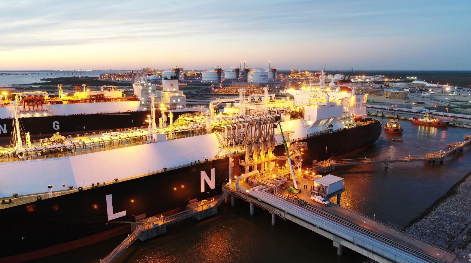 Sabine Pass LNG facility