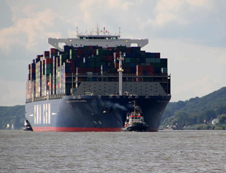 CMA CGM contianership