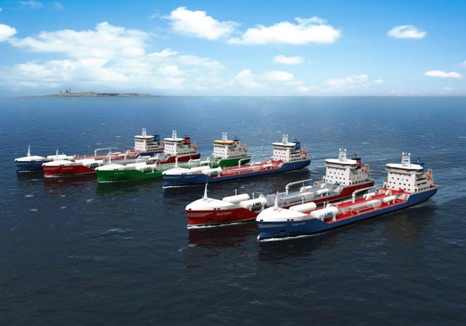 Gothia Tanker Alliance LNG-fuelled tankers