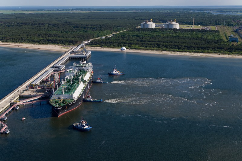 Swinoujscie LNG terminal in POland
