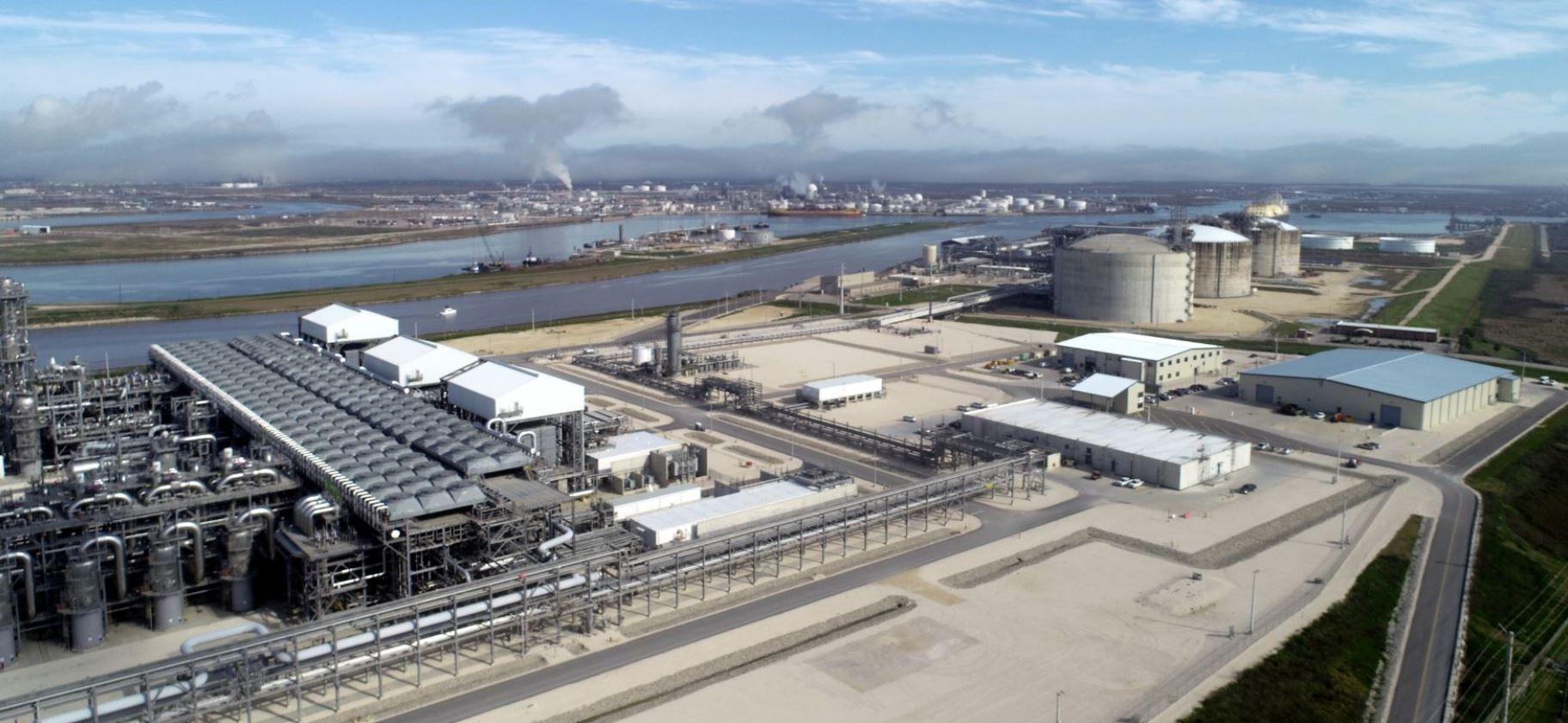 Freeport LNG site