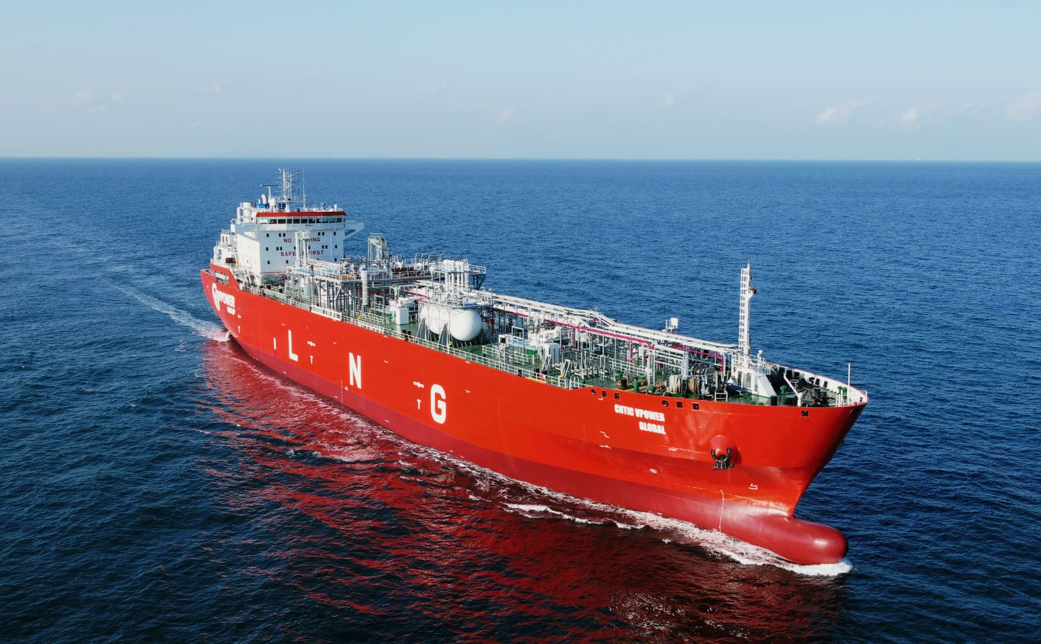 Cntic Vpover Global LNG carrier
