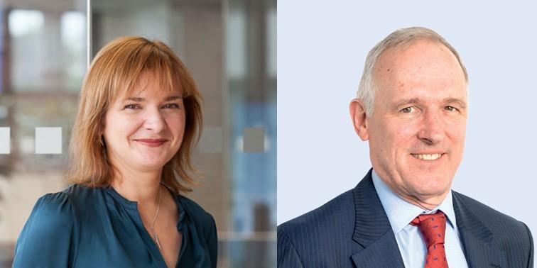 Sarah Deasley (L) and Iain Lanaghan (R); Source: OGA