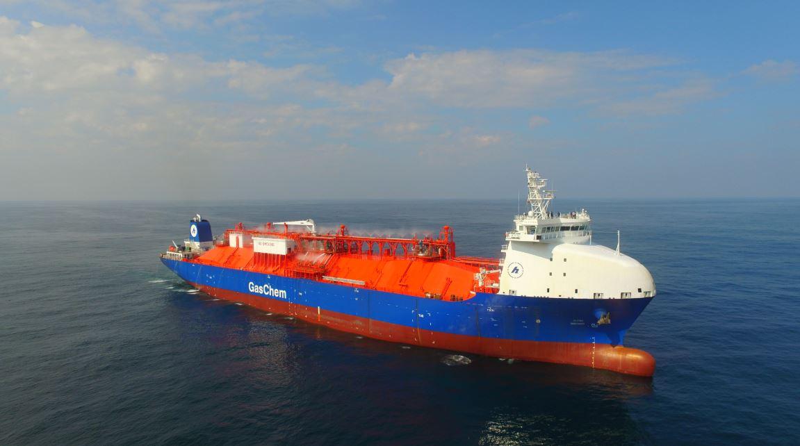 CIMC Sinopacific Offshore & Engineering LPG vessel