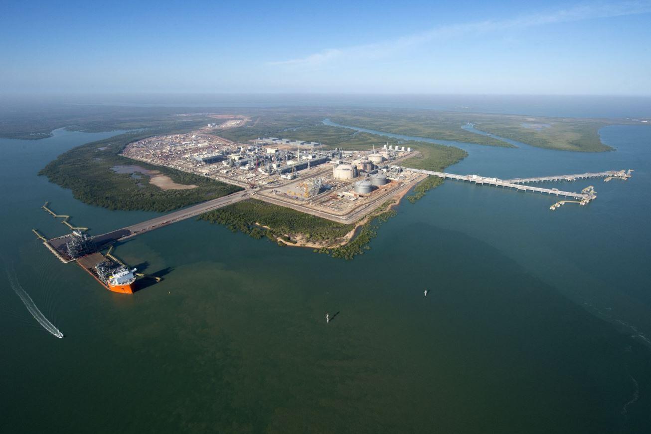 Ichthys LNG plant