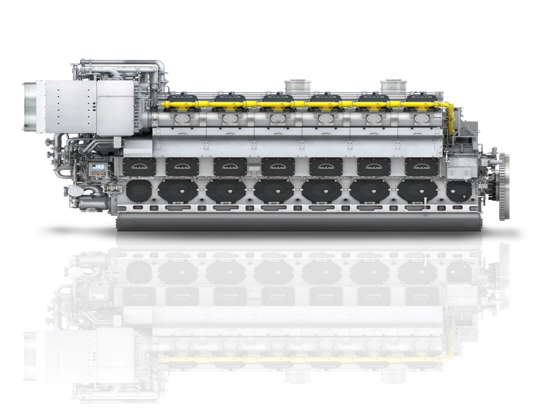 MAN dual-fuel engines picked for Japanese power plant
