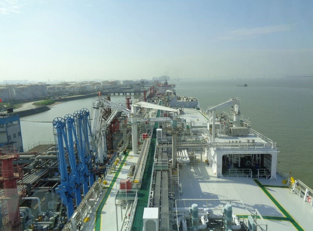 Saga Dawn LNG carrier completes maiden voyage