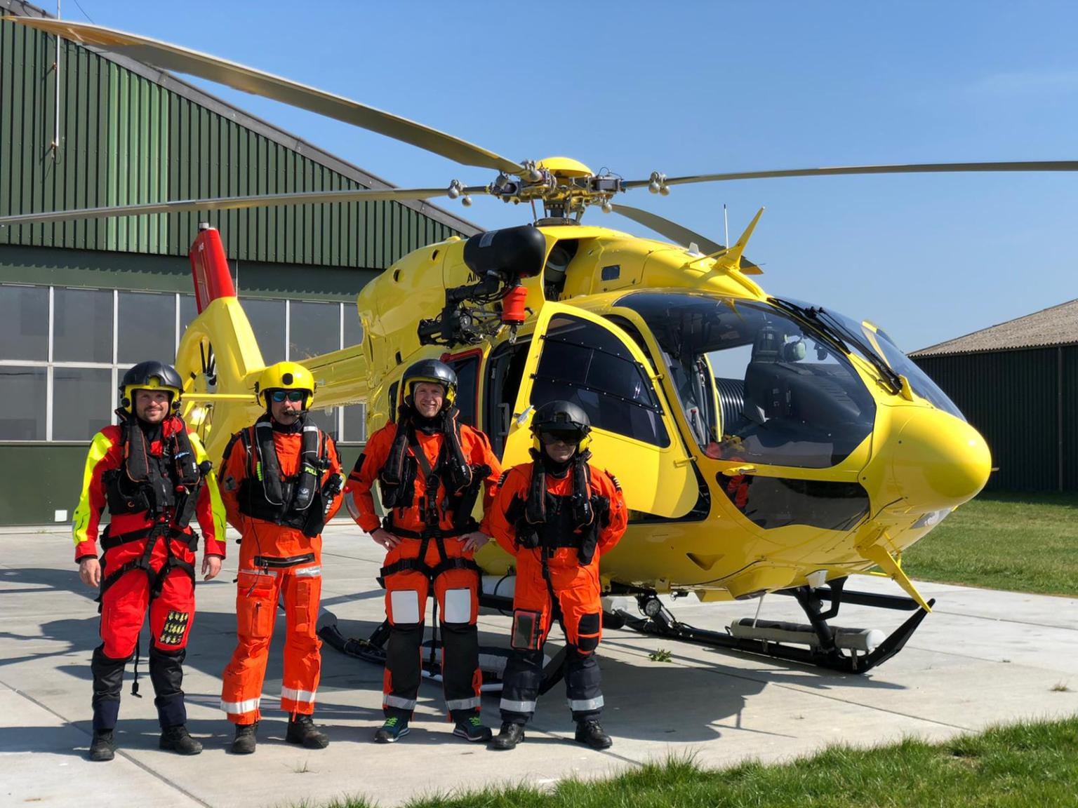 NHV Helicopters begin Borssele 1&2 duty