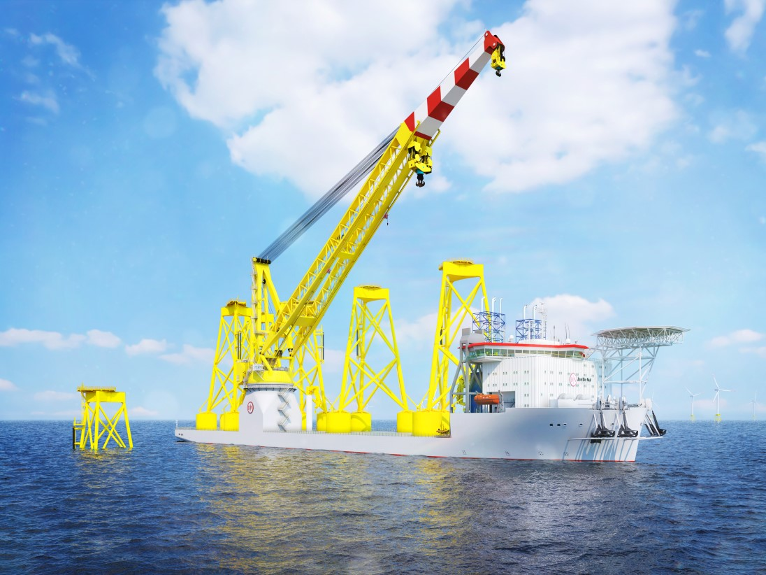 MAN engines to power next-gen offshore installation vessel