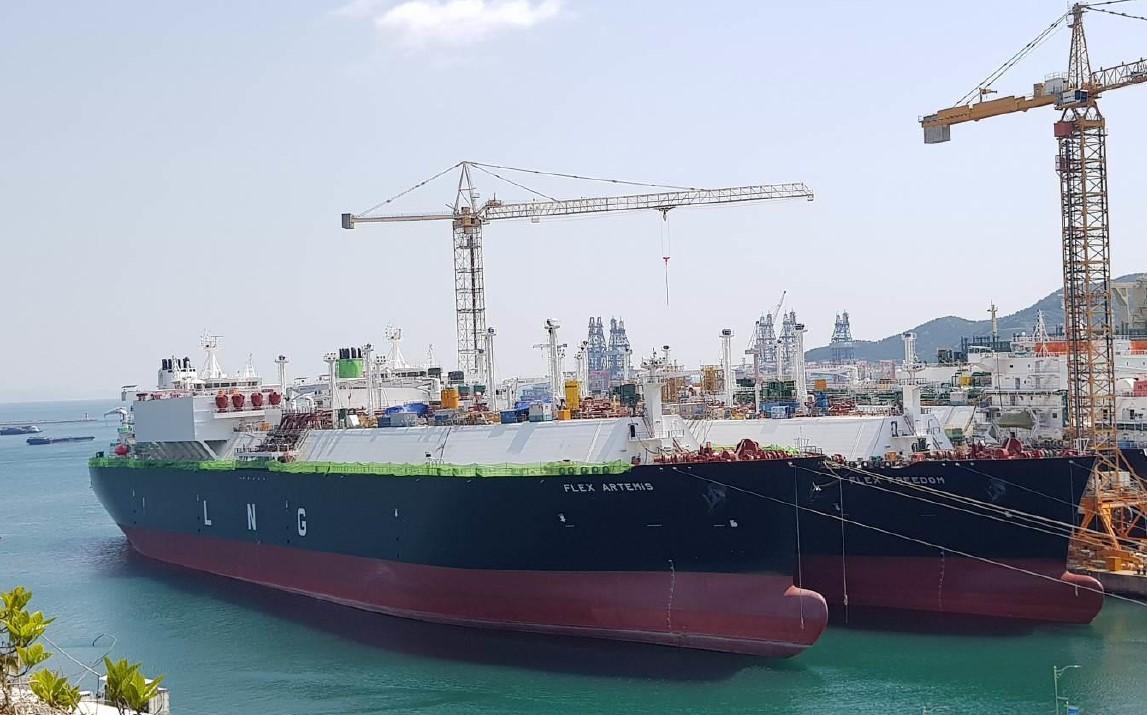 Flex LNG newbuild heads out to sea trials