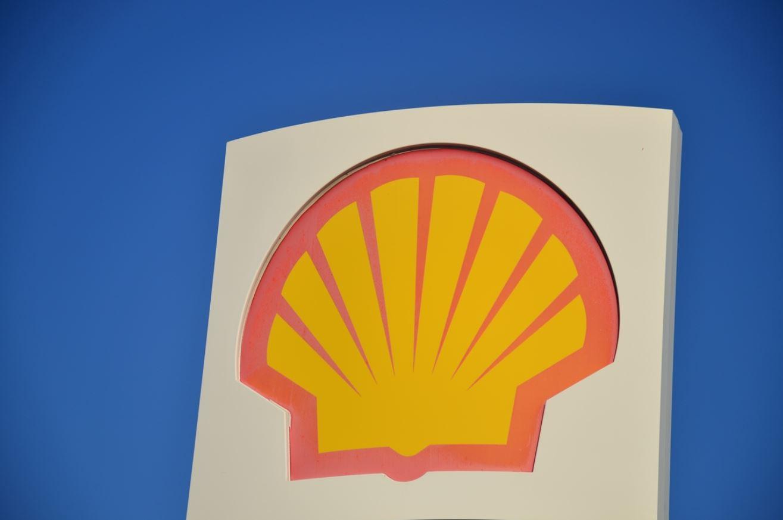 A Shell logo
